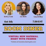 Zoom Diner - Virtual New Material Show with Kelsey Cook and Gina Brillon