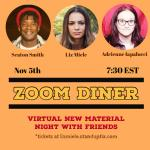 Zoom Diner - Virtual New Material Show with Seaton Smith and Adrienne Iapalucci